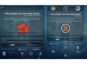 Darknet-Marktplätze Hansa und Alphabay abgeschaltete (Bild: Europol)