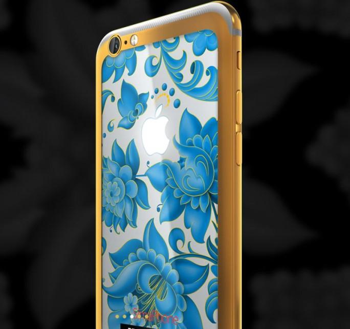 Konkurrenten von Vertu im Luxus-Smartphone-Markt wie die russische Firma Feld&Volk bauen keine eigenen Telefone, sondern beschränken sich auf die Veredelung der Modelle anderer Hersteller - vor allem von Apple (Bild: Feld&Volk)