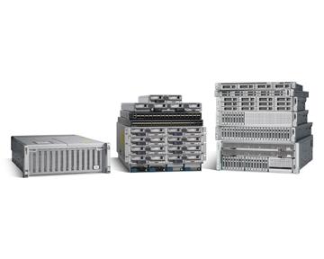 Cisco liefert mit dem UCS Systeme, die neben Computing auch Switch-Fabric, Virtualisierung und Management in einem System abdeckt. (Bild: Cisco)