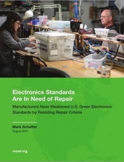 Studie untersucht Standardisierungsgremien für grüne Standards (Bild: Repair.org)