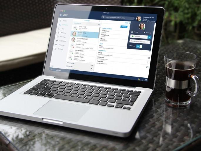 Der Client von Mitel erlaubt Mitarbeitern mobiles und unabhängiges Arbeiten und gibt der IT-Abteilung Gewissheit, dass Daten innerhalb des Unternehmens bleiben (Bild: Mitel)