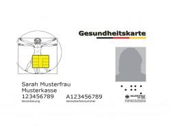 elektronische Gesundheitskarte (Kartengrafik: Gematik GmbH)