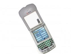 Der TReo 300 von Handspring, das 2003 von Palm übernommen wurde, kam in den USA 2002 in einer für Sprint angepassten Version auf den Markt (Bild: Handspring)