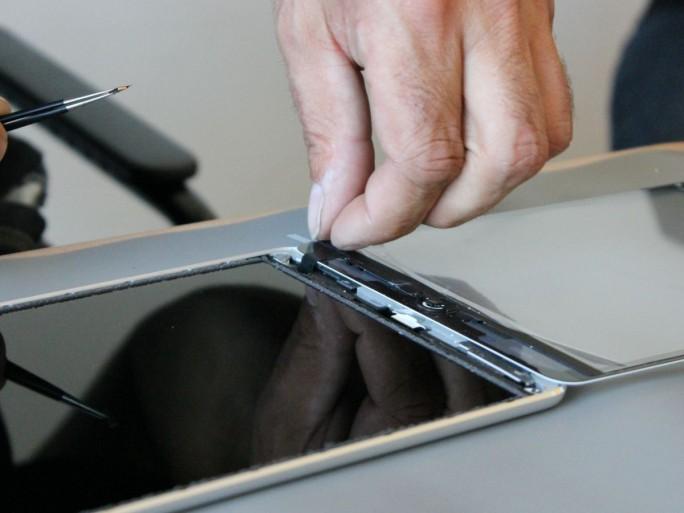 iPad Reparatur (Bild: silicon.de)