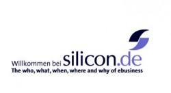 Das erste Logo auf der Website von silicon.de im August 2002 (Grafik: silicon.de)