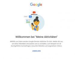"""Der Bereich """"Meine Aktivitäten"""" soll nun einfacher auffindbar sein. (Screensoht: silicon.de)"""