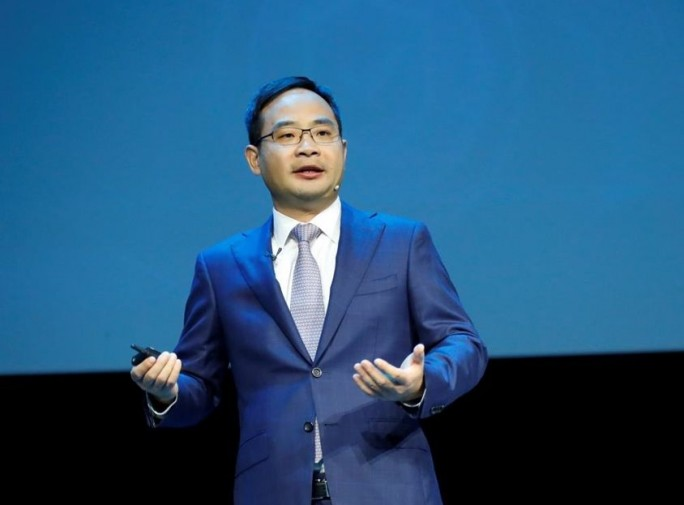 Zheng Yelai, President der Cloud Business Unit und der IT Product Line bei Huawei, auf der Huawei Connect in Shanghai  (Bild: Huawei)