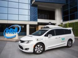 Seit einigen Monaten kooperiert Waymo beim autonomen Fahren auch mit Intel (Bild: Waymo)