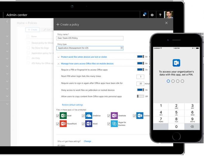 Mit Microsoft 365 bietet Microsoft einen Cloud-Service, der Windows 10, Office 365 und Sicherheitsfunktionen bietet. (Bild: Microsoft)