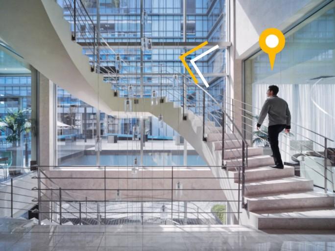 Mit Location-based Services öffnen sich zahlreiche Anwendungsmöglichkeiten wie Indoor-Navigation oder die Verfolgung von Geräten. (Bild: Siemens)