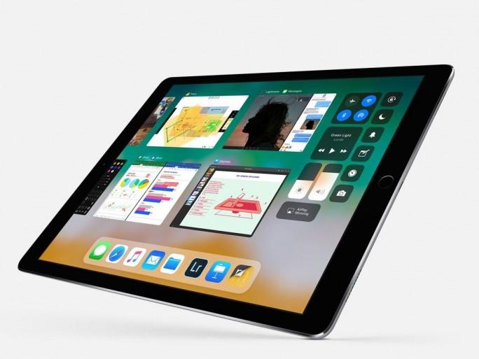 Die neue Oberfläche in Apple iOS 11 auf dem iPad. (Bild: Apple)