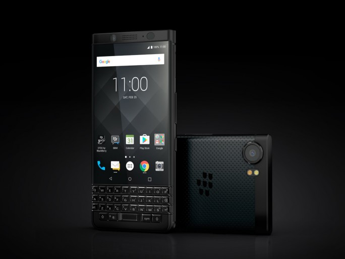 Blackberry KEYone Black Editon. (Bild: TCL)