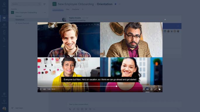 Microsoft will mittelfristig Teams stärker als Skype for Business gewichten. (Bild: Microsoft)