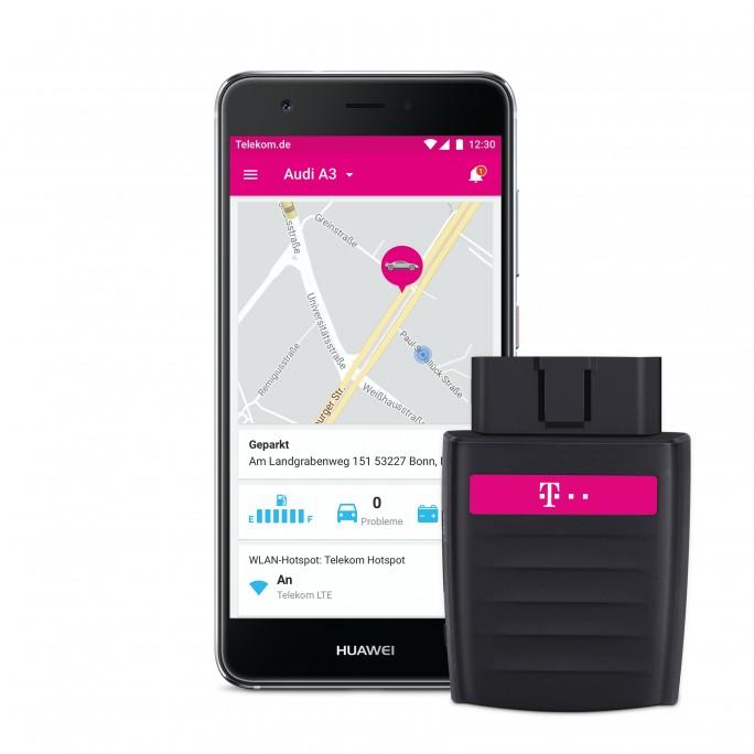 Telekom CarConnect: OBD-Stecker mit integriertem HotSpot ab Oktober