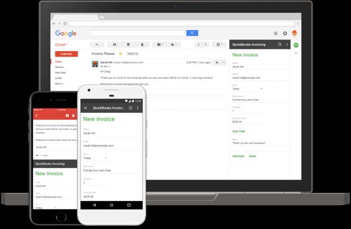 Gmail Add-ons (Bild: Google)