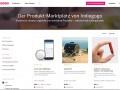 Indiegogo Marktplatz (Screenshot: silicon.de)