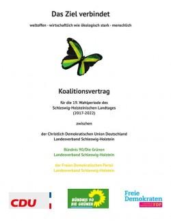 Im Koalitionsvertrag der Landesregierung Schleswig-Holstein wird auf Seite 108 Open Source als wichtiges Ziel festgehalten (Screenshot: silicon.de)