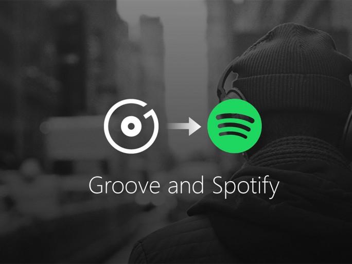 Microsoft stellt Groove Music zum Jahresende ein (Grafik: Microsoft)