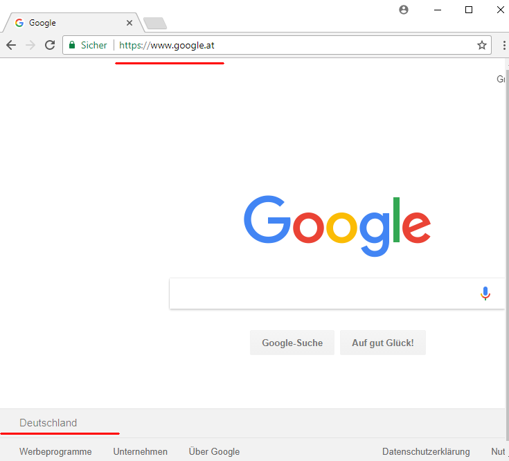 Milliardste Suche Google