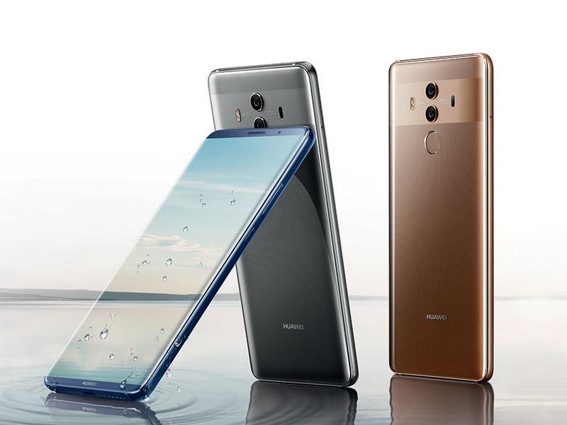 Mate 10 und mate 10 pro huawei setzt bei smartphone for Housse huawei mate 10 pro