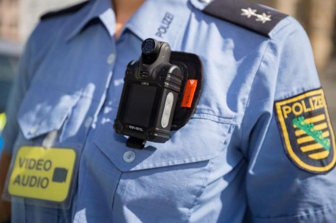 Auch ein Thema für Edge Computing: Körperkameras bei Polizisten (Bild: Polizei Sachsen)