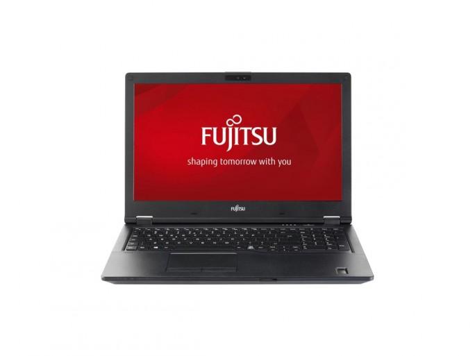 Das Lifebook E5 ist wahlweise mit einem 15,6 oder 14 Zoll großen Full-HD-Display erhältlich und bietet unter anderem eine hintergrundbeleuchtete Tastatur, USB-C-Ports und ein SIM-Karten-Slot. (Bild: Fujitsu)