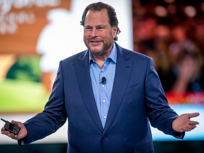 Bekennender Louis-Vuitton-Fan: Salesforce-Chef Marc Benioff (Bild: Salesforce)