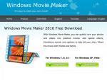 Windows Movie Maker Fake (Screenshot: ZDNet)