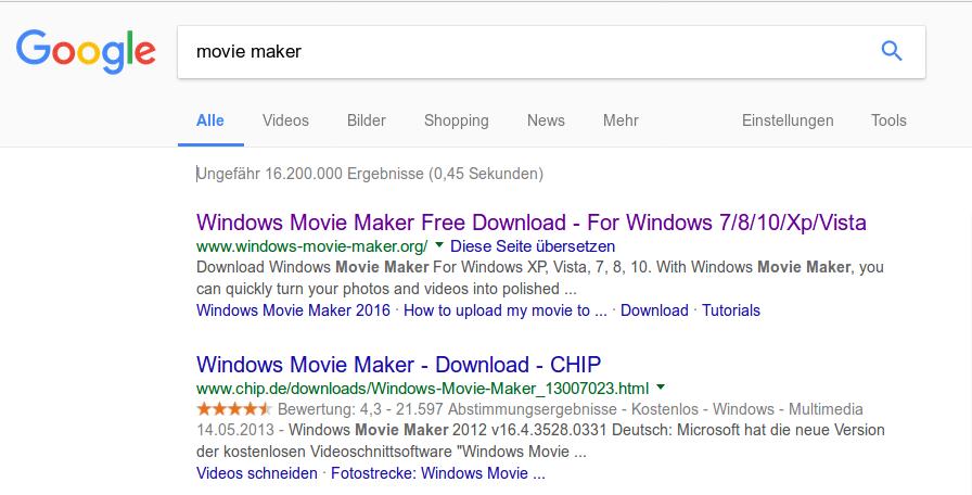 windows movie maker deutsch kostenlos