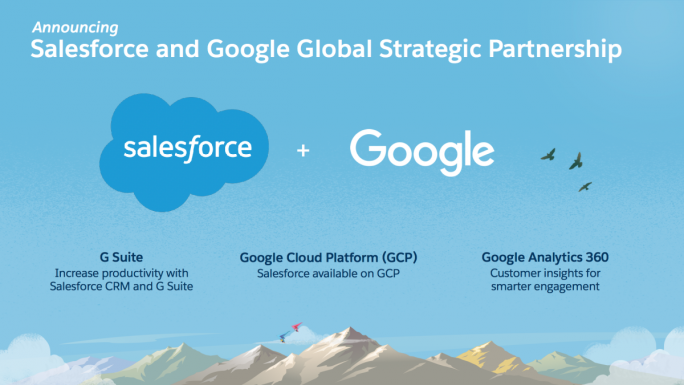 Google und Salesforce (Grafik: Salesforce)