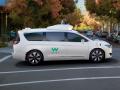 Von Waymo für autonomes Fahren umgerüsteter Minivan von Chrysler (Bild: Waymo)