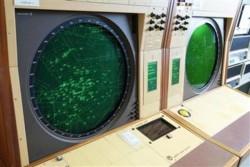 Ausrangiertes Radarsystem Iris des Flughafens London Heathrow (Bild: The National Museum of Computing)