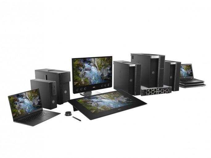 Aktuelles Workstation-Portfolio von Dell (Bild: Dell)