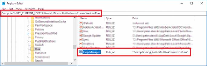 Der Eintrag in der Registry, über den sich manuell überprüfen lässt, ob man von dem FinFisher-Nachfolger StrongPity2 betroffen ist. (Bild: Eset)