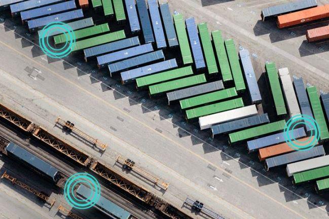 Jährlich gehen mehr als 1000 Container verloren. Mit der neuen Lösung Here Tracking sollen solche Verluste deutlich minimiert werden. (Bild: Here)