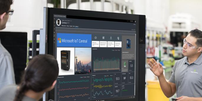 """Microsoft öffnet die Preview-Version des Azure-Services """"Microsoft IoT Central"""". Anwender bekommen damit eine zentrale Verwaltung für vernetzte Umgebungen. (Bild: Microsoft)"""