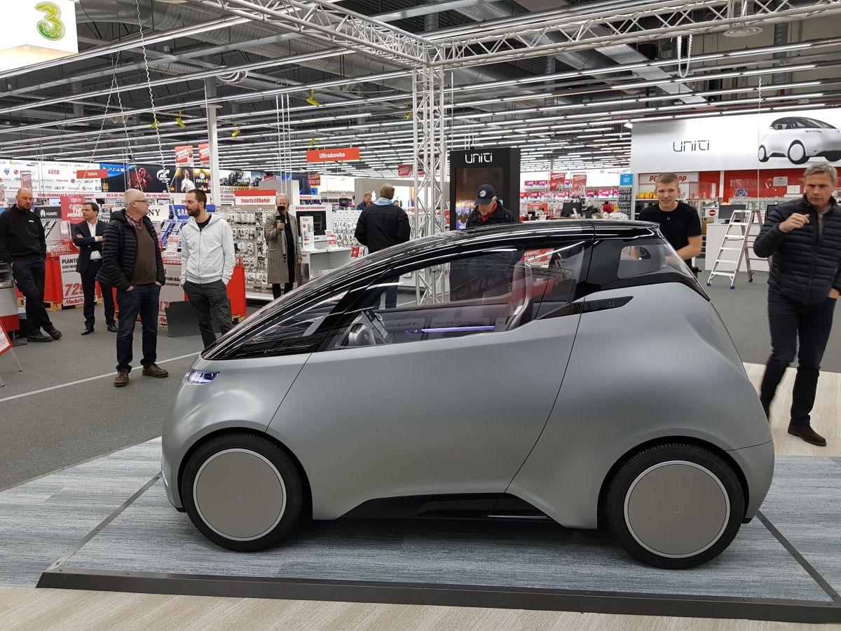 Uniti stellt das erste IoT-Auto der Welt vor - silicon.de