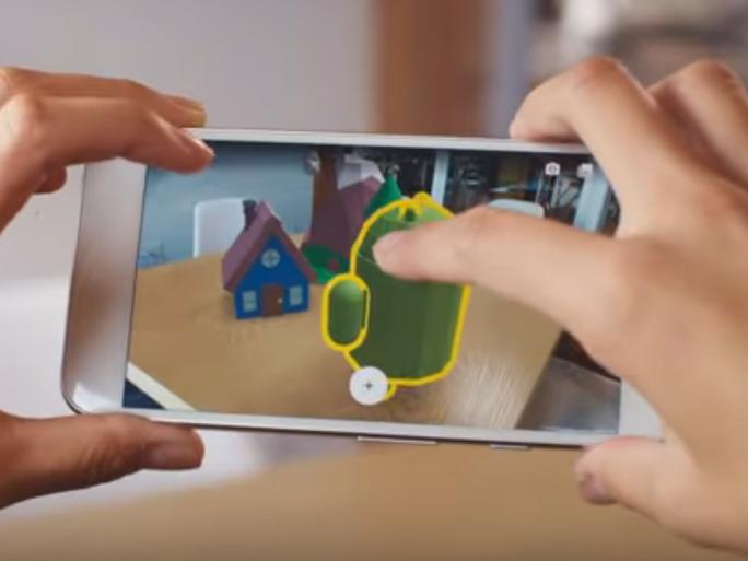 Mit AR Core steht Google mit Unterstützung von Samsung in Konkurrenz zu Apples ARKit (Bild: Google)