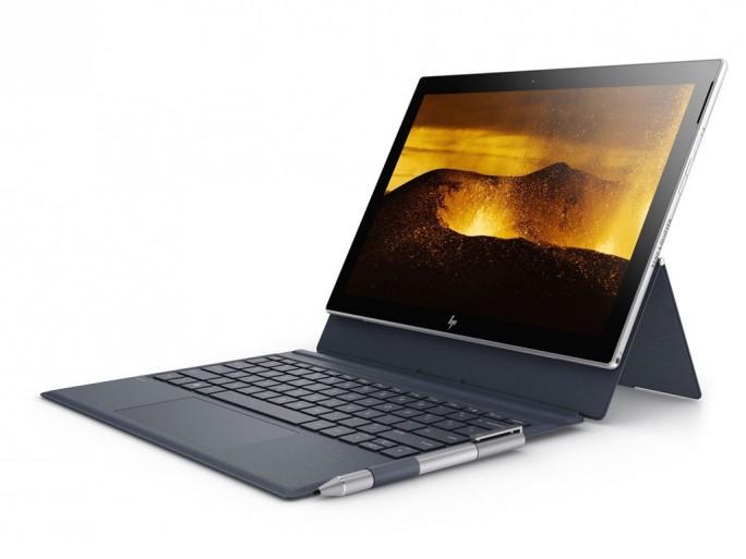 HP will im Frühjahr 2018 das Envy x2 auch auf Basis des Qualcomm-Snapdragon bringen. (Bild: HP)