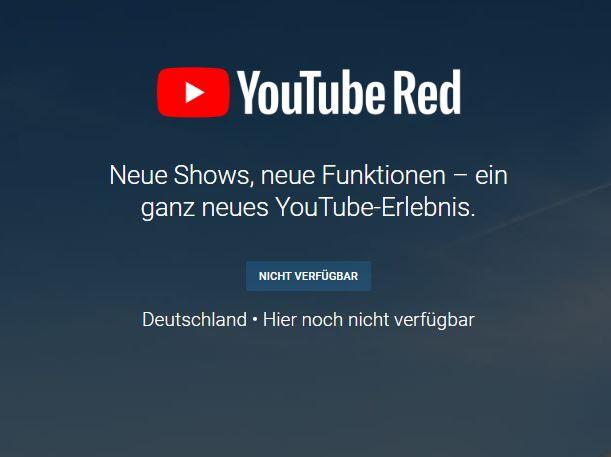 Youtube Red, Googles kostenpflichtiger Video-Service ohne Werbung, ist derzeit in Deutschland noch nicht verfügbar. Vermutlich wird es sich bei Remix, einem Vergleichbaren Angebot für Musik, ähnlich verhalten. (Screenshot: silicon.de)