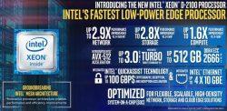 Intel stellt den Xeon D-2100 vor. (Bild: Intel)