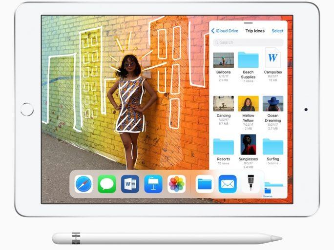 iPad 9,7 Zoll (2018). (Bild: Apple)