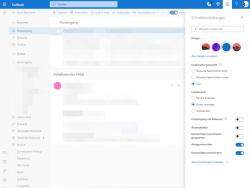 Die neue Oberfläche von Outlook.com bietet ein Schnellmenü für den Zugriff auf wichtige Einstellungen. (Screenshot: ZDNet.de)