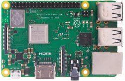 Der Raspberry Pi 3 Model B+ sieht mehr oder weniger aus wie die Vorgängerversionen, liefert jedoch deutlich mehr Leistung für das gleiche Geld. (Bild: Raspberry Pi Foundation)