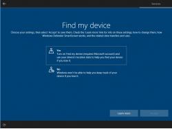 Alternativ testet Microsoft ein Design, bei dem jede Einstellung auf einer separaten Seite angezeigt wird. (Bild: Microsoft)