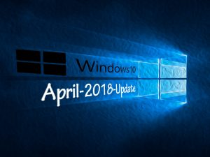 Windows 10 April-2018-Update (Bild: ZDNet.de)