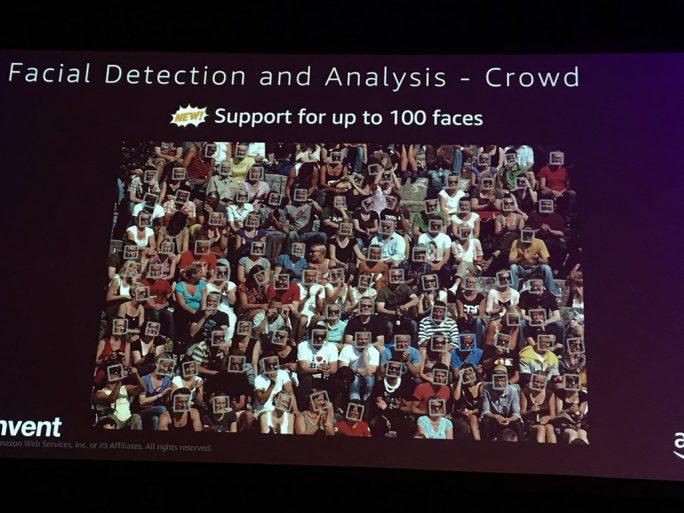 Amazon Rekognition: Gesichtserkennung in der Kritik (Bild: Amazon)