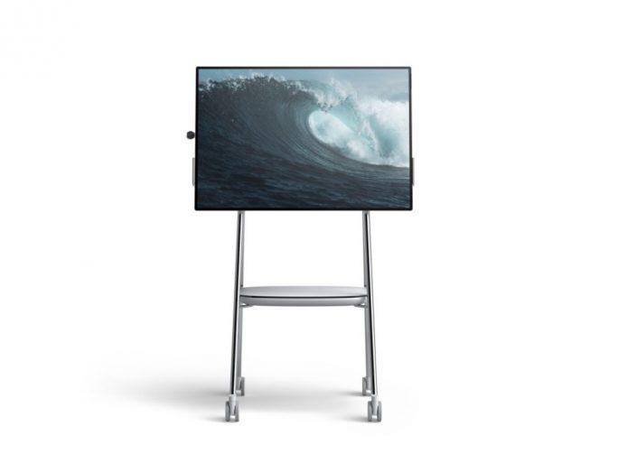 Surface Hub 2: Ständer von Steelcase (Bild: Microsoft)