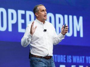 Intel-CEO Brian Krzanich ist Geschichte (Bild: Stephen Shankland, CNET)