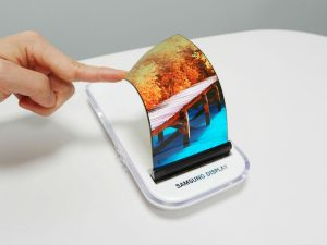 Samsung: flexibles OLED-Display (Bild: Samsung)
